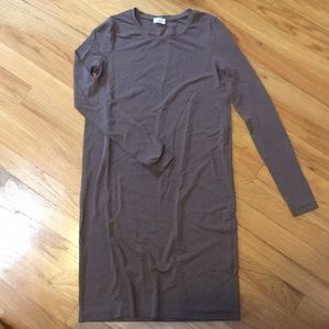 Long sleeve bodycon Wilfred free dress